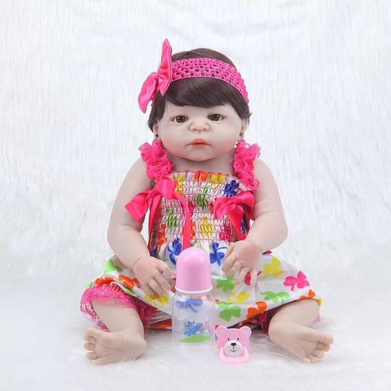 Bebê Reborn Barato Menina Pronta Entrega Silicone Realista
