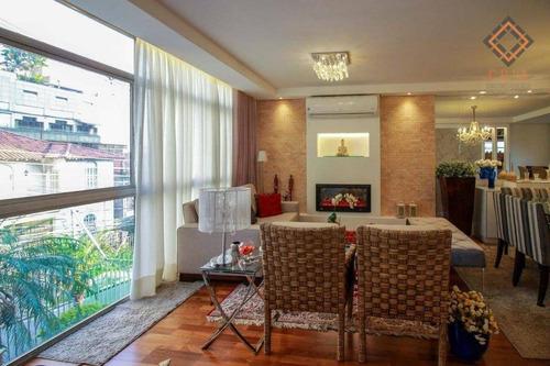 Apartamento Com 3 Dormitórios À Venda, 128 M² Por R$ 1.648.000,00 - Jardim Paulista - São Paulo/sp - Ap52012