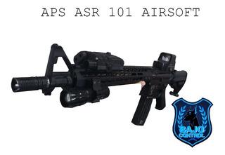 Airsoft Asalto Aps Asr101 Full Metal