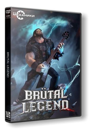 Brutal Legend - Dvd Pc - Mídia Física - Frete 8 Reais