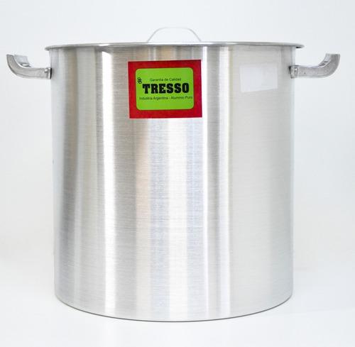 Imagen 1 de 5 de Olla Aluminio Con Asas Nro 28 Tresso 28x28cm 12l