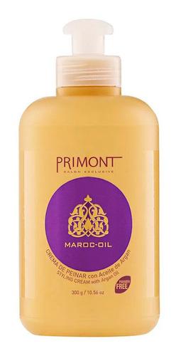 Crema De Peinar Maroc Oil Con Aceite De Argan - Primont