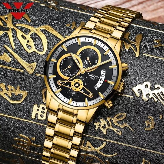 Relógio Masculino Nibosi 2309.1 Blindado A Pronta D