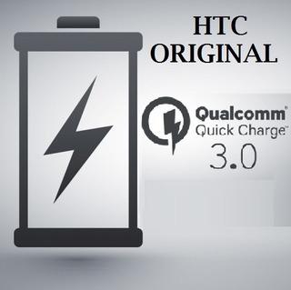 Cargador Original Htc M10 + Cable Tipo C Carga Rapida 3.0