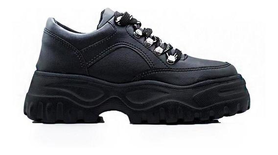 Zapatos Mujer Sneakers Moda Black