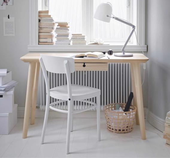 Escritorio De Madera Solid Birch Solid Ash Desk