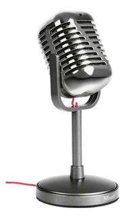 Microfono De Escritorio Elvii Vintage Pc - Trust