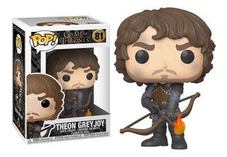Funko Pop Theon Greyjoy #81 Game Of Thrones With Arrow