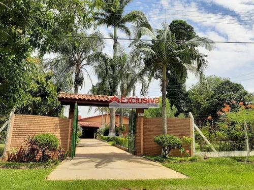 Chácara Com 2 Dormitórios À Venda, 3030 M² Por R$ 955.000,00 - Mirante Jaguari - Cosmópolis/sp - Ch0054
