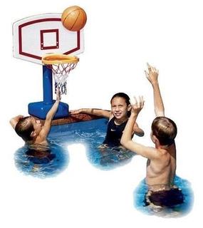 Juego Basket Ajustatable Acuatico Piscina Alberca Baloncesto