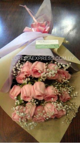 Ramo De 15 Rosas Fiesta 15 Años Floreria Foto Real