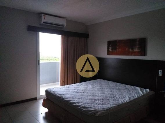 Flat Com 1 Dormitório Para Alugar, 27 M² Por R$ 1.600/mês - Praia Do Pecado - Macaé/rj - Fl0036