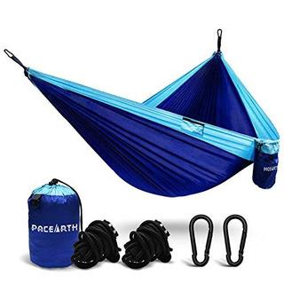 Pacearth Juego De Camping Hamaca En 945x 55en Ligero Nailo