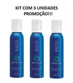 Kit C/3 Mousse Spray Depeeling Racco - Promoção!!!