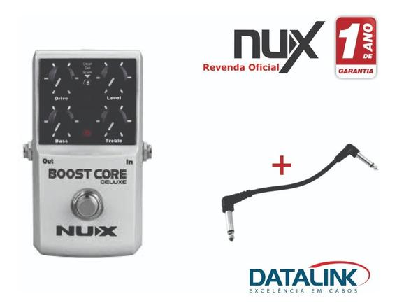 Pedal De Efeito Booster Core Deluxe Nux