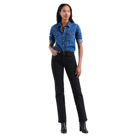 Calça Jeans Levis 314 Shaping Straight 4 Way Stretch Fem