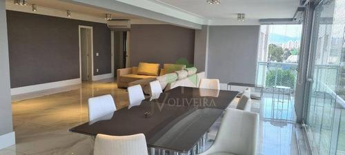 Apartamento Para Alugar, 241 M² Por R$ 16.000,00/mês - Perdizes - São Paulo/sp - Ap2038
