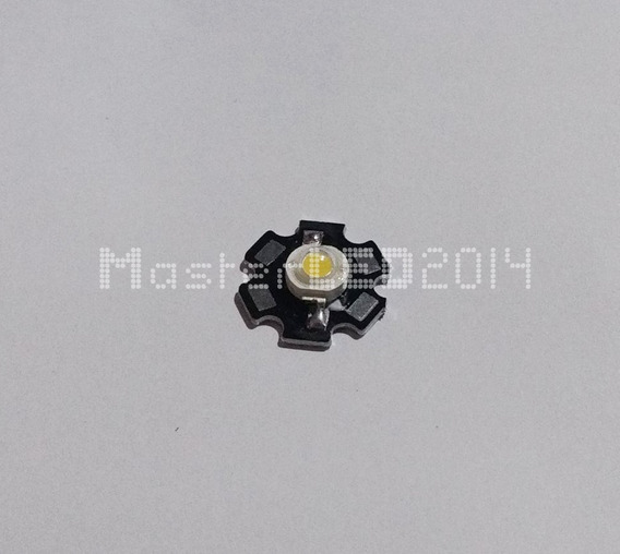 Hi-Power LED 3w espectro completo-blanco 380-780nm