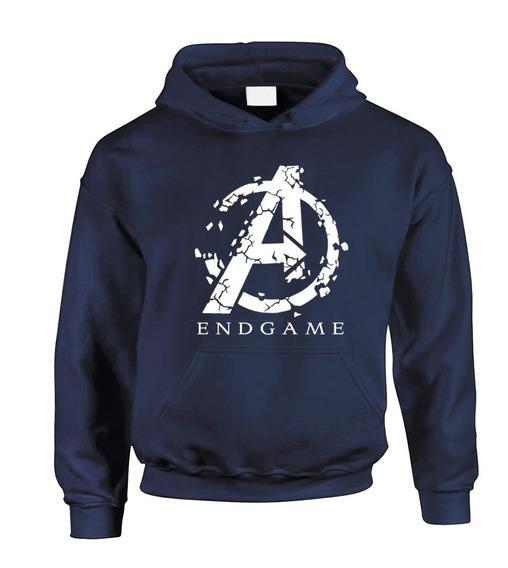 Sudadera Avengers Endgame Marino Precio Unico!!!