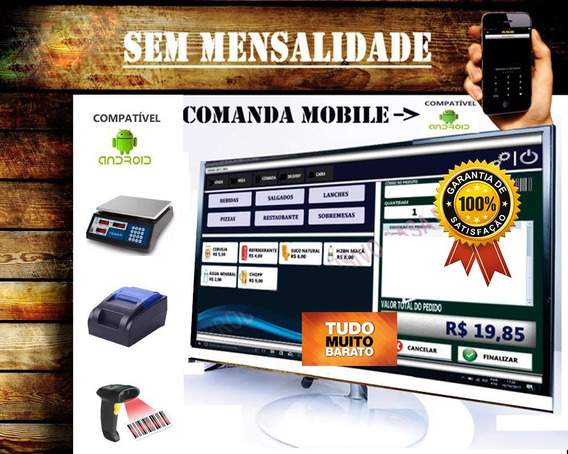 Sistema Comanda Tablet Celular, Food Truck, Cafeterias.
