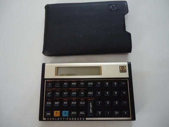 Calculadora Financeira 12 C Gold Original Lacrada