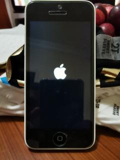 iPhone 5c Blanco 16 Gb, Batería Y Pantalla Nueva!