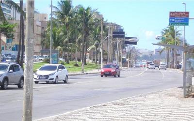 Apartamento 1 Quarto, Varanda, 56,80m², Nascente, Armários, Bem Localizado - Ondina - Ap2194