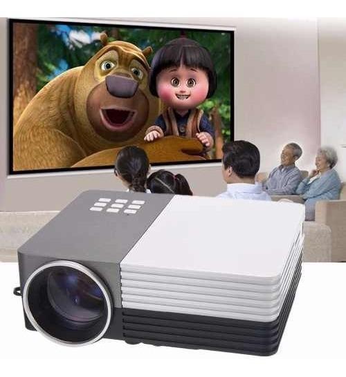 Mini Projetor Portátil Led 1080p Full Hd 150 Lúmens Ydtech
