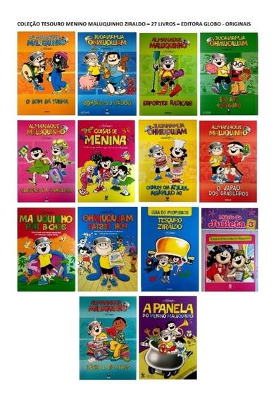 Coleção Tesouro Menino Maluquinho Ziraldo Alves - 27 Livros