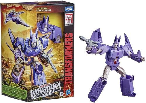 Figura Transformers Cyclonus 18cm - Kingdom Wfc Hasbro