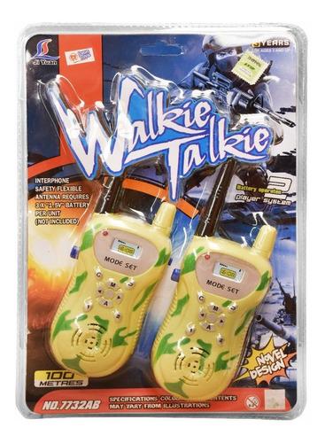Walkie Talkie Infantil Juguete Niños -    10061