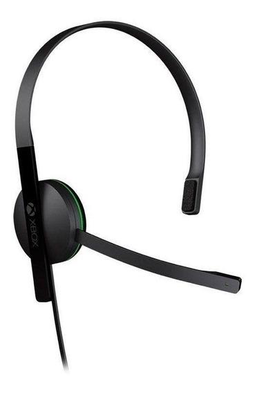 Headset Microsoft Básico Com Fio Xbox One Pronta Entrega