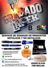 Grabado Laser, Grabado De Lapiceros