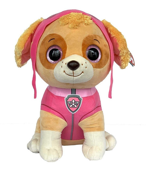 Skye Ty Beanie Boos Pelúcia Grande Original Patrulha Canina