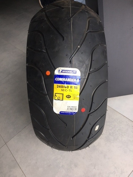 Pneu Moto Michelin Commander 2 240/40 R18 Bouleverd M1800r
