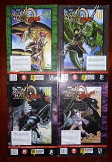 Coleção Mangá Monster Hunter Orage Completa P/entrega!