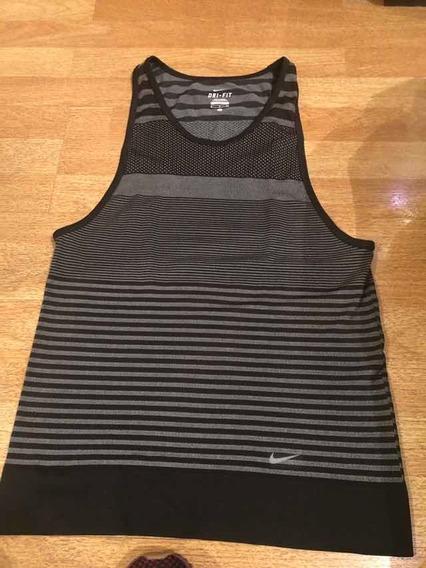 Musculosa Nike Usada De Mujer Tipo Elastizada