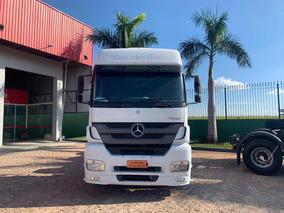 Mercedes Benz Axor 2544 = Leito Teto Alto = Canelinha