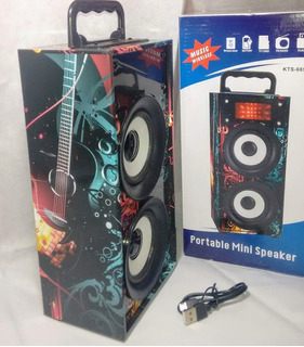 Parlante Original Bluetooth Usb Radio Fm Aux