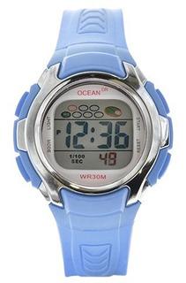 Reloj Hombre Reloj Mujer Alarma Sumergible Deportivo Od01015