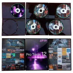 Pro Tools 12 Hd V12.5 + T-racks Cs + Lfotool + 44 Plugins