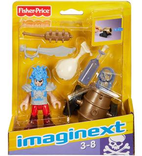 Muñeco Piratas Imaginext Original New X7644 Bigshop
