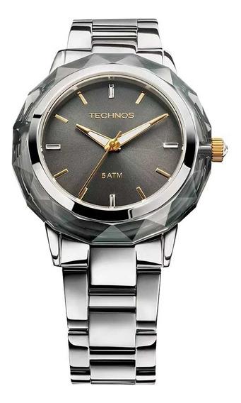 Relógio Technos Swarovski 2035mcl/1c - 12x S/j -frete Grátis