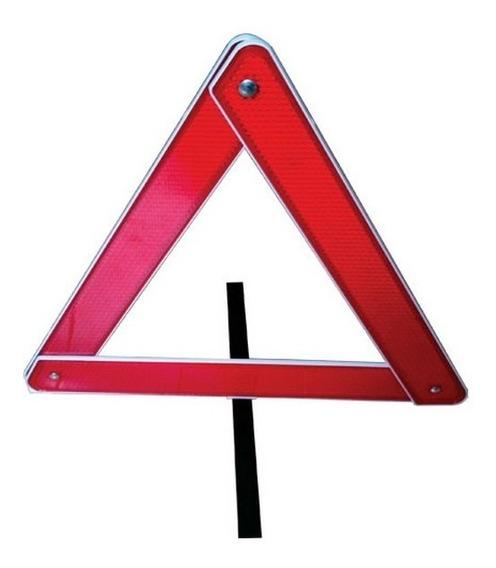 Triangulo De Seguranca Automotivo Reflexivo Base Pesada Btr