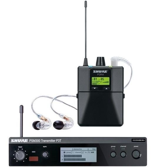 Sistema Monitor De Audio Pessoal Shure P3tra215cl | Psm300
