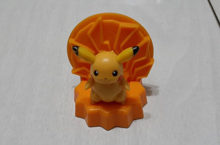 Muñeco Pokemon Pikachu Nintendo Burger King 2008