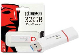 Pen Drive Kingston 32gb Usb 3,0