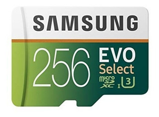 Samsung 256gb 100 Mb / S (u3) Microsdxc Evo Select Original