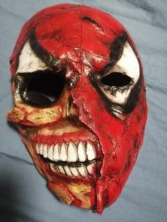 Máscara Spiderman Zombie Marvel Original Única ¡ Oferta