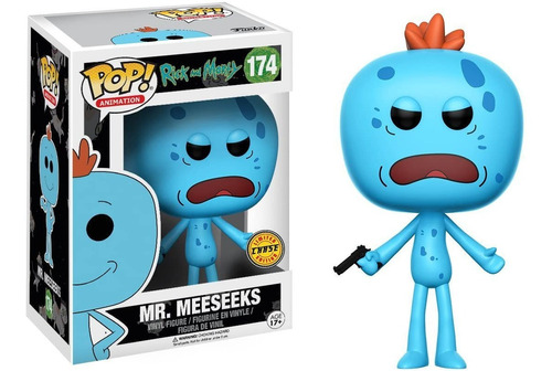 Funko Pop Rick And Morty Mr. Meeseeks Chase Figure
